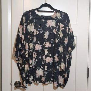 Aritzia Talula Light Floral Cover Up